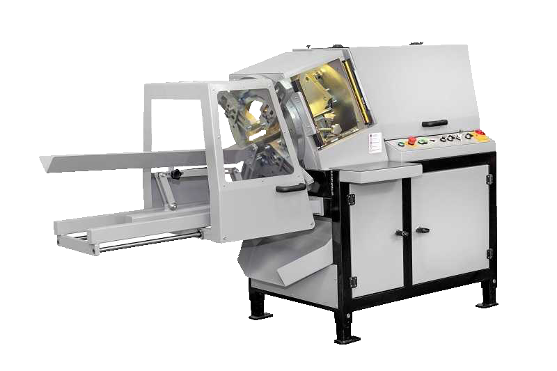 Label punching machines